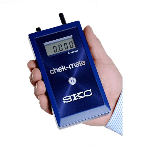 Handheld Chek-mate calibrator for air sampling pumps