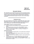 Manual for Spill Decontamination Kit for Aromatic Amines