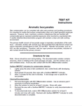 Manual for Spill Decontamination Kit for Aromatic Isocyanates
