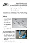 Carpet Sampling Kit Instructions