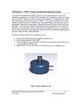 PEM Calibration Cap Instructions