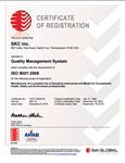 SKC Inc ISO Certificate