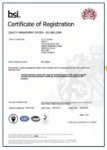 SKC Ltd ISO Certification which we have had for over 20 years