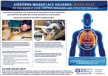 Wood Dust Hazard Awareness Poster
