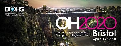 SKC Ltd will be attending the OH2020 Conference, hosted by the BOHS, in Bristol , April 20-23, Stand 11