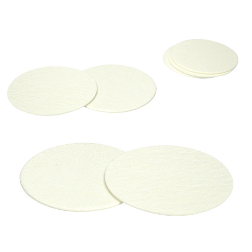 225-1711 PTFE filters with PMP support, diameter 25mm, Pore size 3 µm