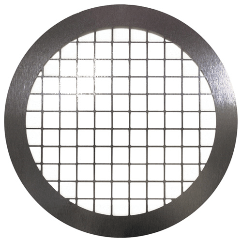 225-26 Stainless Steel Screen, diameter 37 mm, wide mesh