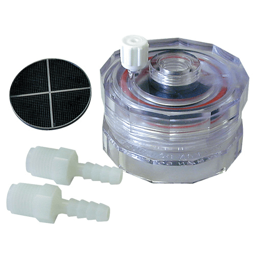 225-4702 Polycarbonate, in-line, with support Filter Holder, diameter 47mm