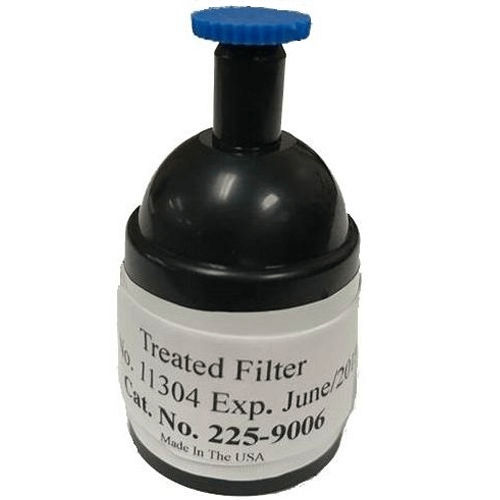 225-9006 Preloaded Coated Silver Membrane Filters in a 3-piece cassette
