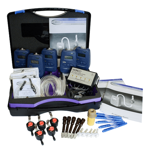 Combined Dust/Vapour Sampling Kit