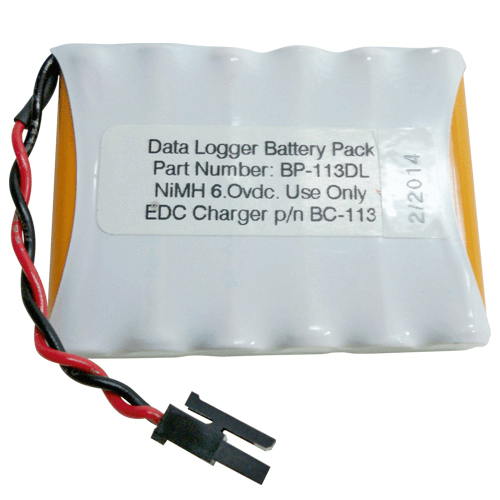 Replacement Battery Pack for Data Logger