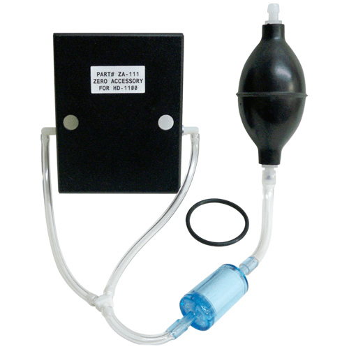 770-130 Zeroing Accessory, for pumping filtered air into the sensor for a zero reading in contaminated environment