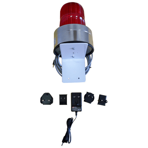 770-231 External Audible Alarm for the EPAM 7500, 90dB at 9ft with visual strobe