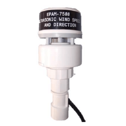 770-237 Ultrasonic Wind Speed (0-125 mph) and Direction Indicator (5 to 355 Degrees) for the EPAM 7500