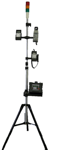 770-814 Tripod Stand, includes holder for HAZ-SCANNER IEMS, 1 to 1.5 m (3 to 5 ft)