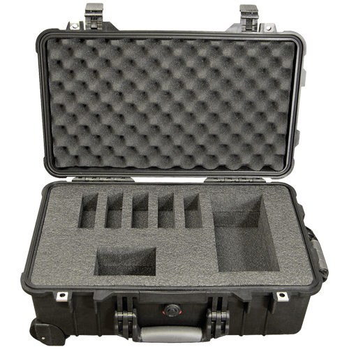 224-910 Pelican Deluxe Hard-Sided Five Pump Case