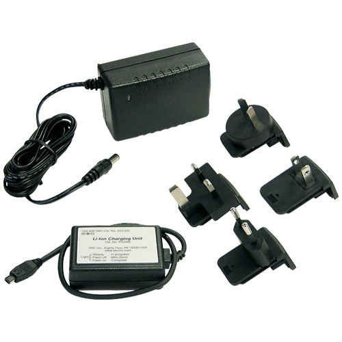 223-241 Single Charger 100-240 V with multiplug for UK, Europe, USA, Australia, New Zealand