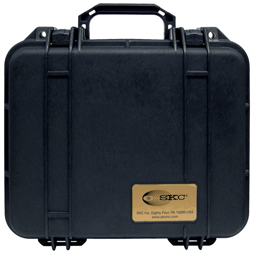 224-901 Pelican Hard-Sided Single Pump Case which is watertight, airtight, dustproof and crushproof for Universal pump