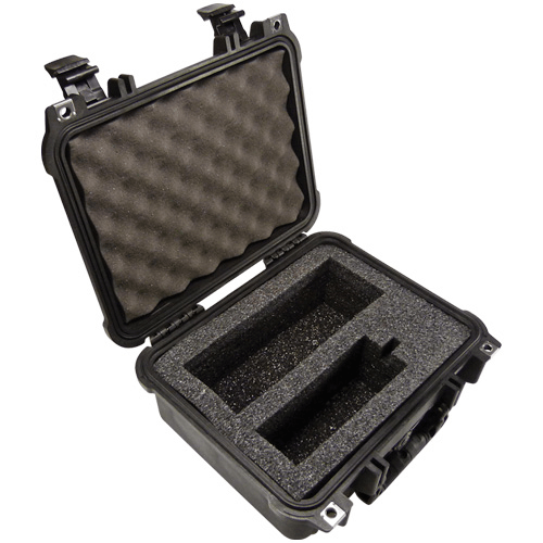 224-912 Pelican Hard-Sided Single Pump Case which is watertight, airtight, dustproof and crushproof for Leland Legacy pump