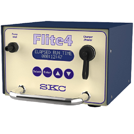 The versatile and programmable high flow Flite4 Sample Pump from SKC