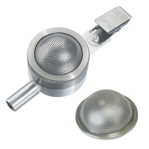 225-367 SKC Button Sampler with protective shield, ideal for low level personal or area inhalable sampling.
