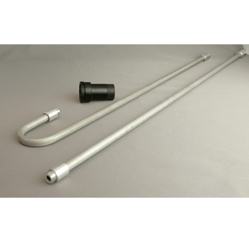 901-213 Rigid Aluminium Sampling Mast - two piece, 1 m high, for use with the Flite 3 Sampling Pump