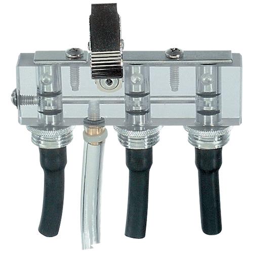 Triple Adjustable Flow Tube Holder