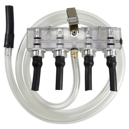 Quad Adjustable Flow Tube Holder